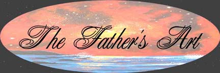 The Fathers Art Logo for artist Angela Young